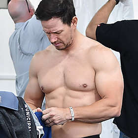 Mark Wahlberg is Shirtless