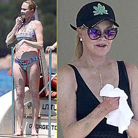 Melanie Griffith in Bikini