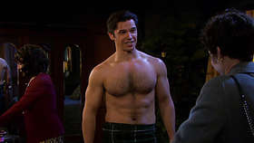 Paul Telfer Shirtless
