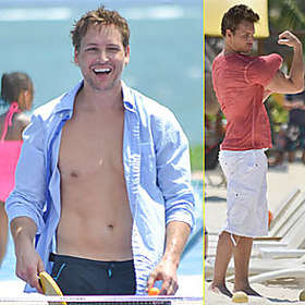 Peter Facinelli New Shirtless Pic