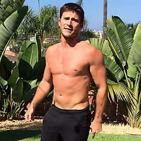 Scott Eastwood is Shirtless