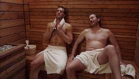 Andy Favreau & Scott MacArthur Shirtless