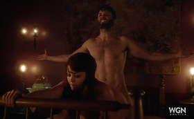 Seth Gabel Naked Scene in New Series Salem