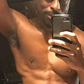 Sterling K Brown is Shirtless