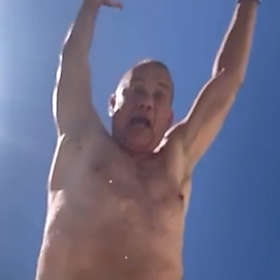 Tom Hanks is Shirtless