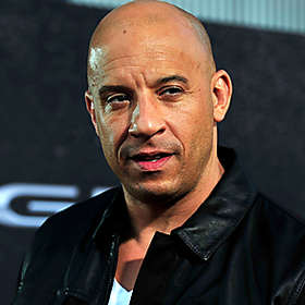 Vin Diesel is Shirtless