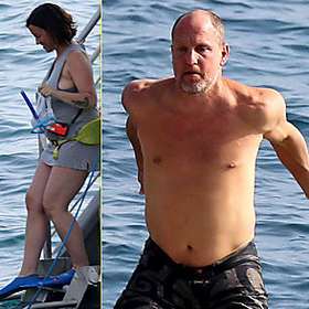 Woody Harrelson is Shirtless