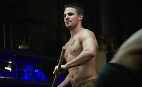 Team Arrow's Shirt Off Workout Bonanza