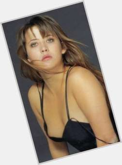 Sophie Marceau light brown hair & hairstyles Slim body,