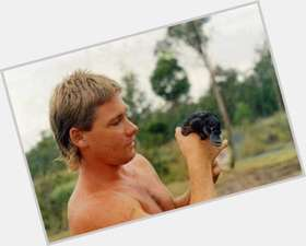 Steve Irwin blonde hair & hairstyles Athletic body,