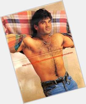 "<a href=""/hot-men/sunil-shetty/is-he-south-indian-and-shilpa-related-handsome"">Sunil Shetty</a> Slim body,  black hair & hairstyles"