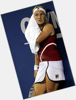 Svetlana Kuznetsova blonde hair & hairstyles Athletic body,