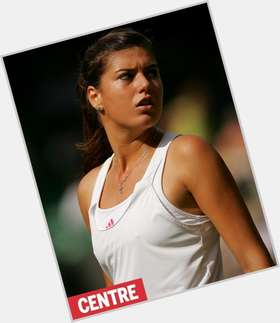 Sorana Cirstea dark brown hair & hairstyles Athletic body,