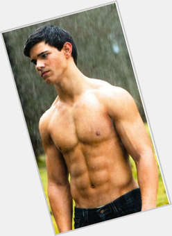 Taylor Lautner black hair & hairstyles Athletic body,