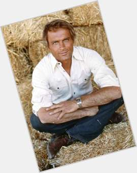 Terence Hill blonde hair & hairstyles Athletic body,