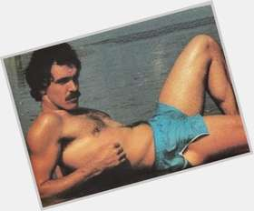 "<a href=""/hot-men/tom-selleck/is-he-married-leaving-blue-bloods-serbian-sick"">Tom Selleck</a> Athletic body,  light brown hair & hairstyles"