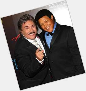 "<a href=""/hot-men/tony-orlando/is-he-married-mexican-thats-boy-bald-hispanic"">Tony Orlando</a> Average body,  salt and pepper hair & hairstyles"