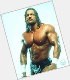 Triple H blonde hair & hairstyles Bodybuilder body,