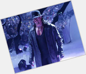 Undertaker WWE light brown hair & hairstyles Athletic body,