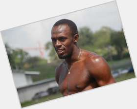 "<a href=""/hot-men/usain-bolt/is-he-bolts-real-cocky-clean-rich-faster"">Usain Bolt</a> Athletic body,  black hair & hairstyles"