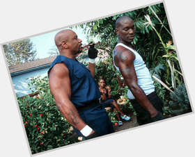 "<a href=""/hot-men/ving-rhames/is-he-married-crip-scientologist-christian-homosexual-still"">Ving Rhames</a> Bodybuilder body,  bald hair & hairstyles"