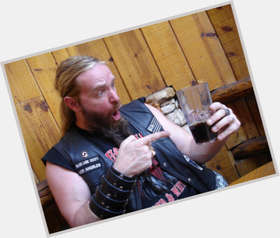 Zakk Wylde light brown hair & hairstyles Bodybuilder body,